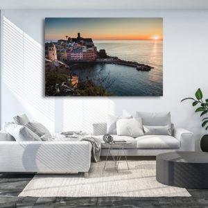 """Photographie """"Manarola Sunset"""", Cinque Terre, Italy"""